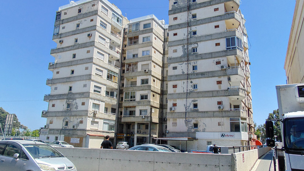 Demolition of dilapidated housing on the embankment of Limassol
