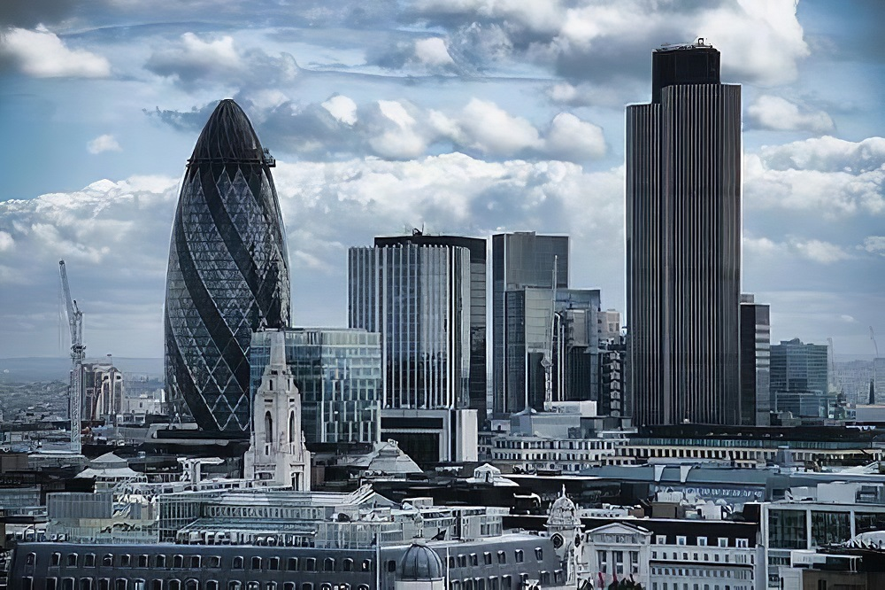 world londons financial district - 1000×666