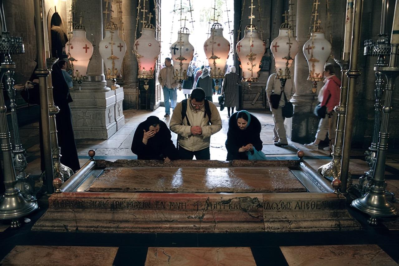 систематизации фото с гроба господня видение ангелов предпочитают оформить